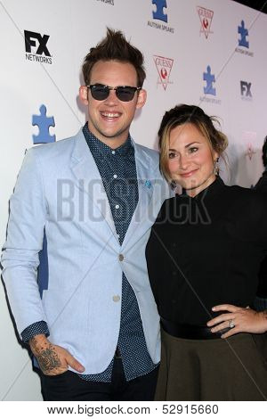 LOS ANGELES - OCT 24:  James Durbin at the Blue Jean Ball benefiting Austism Speaks at Boulevard 3 on October 24, 2013 in Los Angeles, CA