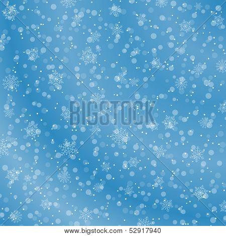 Winter decoration background