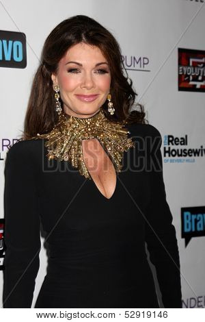 LOS ANGELES - OCT 23:  Lisa Vanderpump at the Real Housewives of Beverly Hills Season 4 Party AND Vanderpump Rules Season 2 Party at Boulevard 3 on October 23, 2013 in Los Angeles, CA