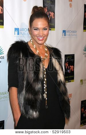 LOS ANGELES - OCT 21:  Tiffany Fallon at the