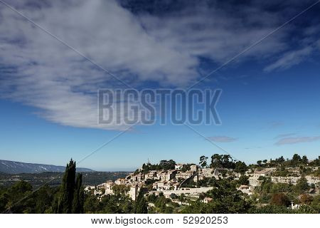 Village of Bonnieux, Luberon, Provence, France