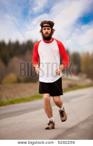 Tired Jogger