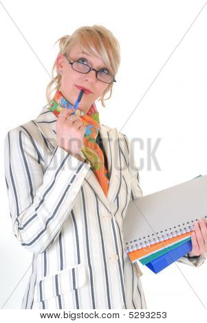 Blond Businesswoman