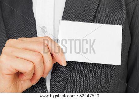 Badge Card, Copyspace