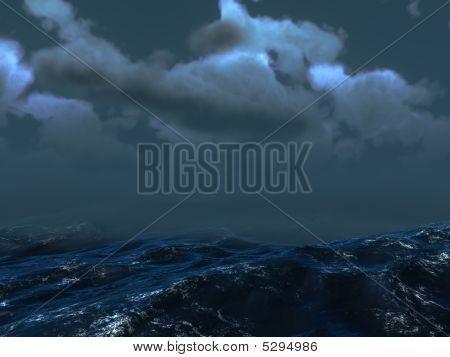 Meer Sturm