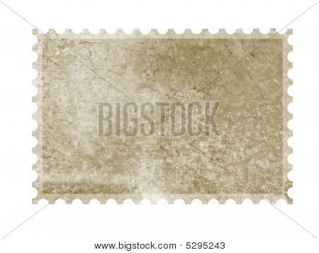Old Grungy Stamp