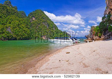 James Bond Island on Phang Nga Bay in Thailand