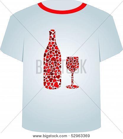 T Shirt Template- Love potion