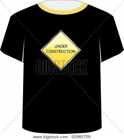 T Shirt Template- under construction