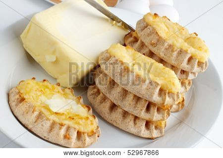 Finnish karelian pies
