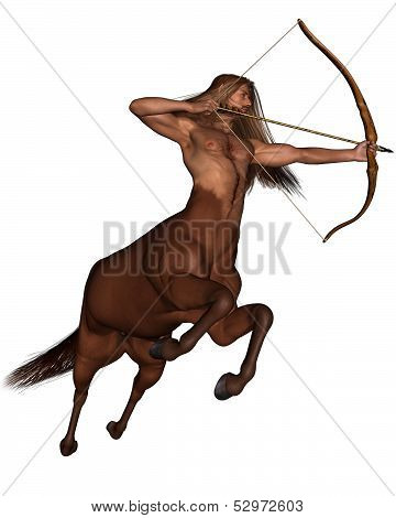Sagittarius the archer - galloping