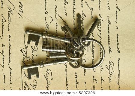 Keys And Manusckript