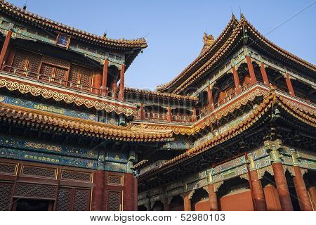 Yonghe Temple AKA Lama Temple In China