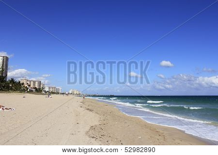 Deerfield Beach Looking North