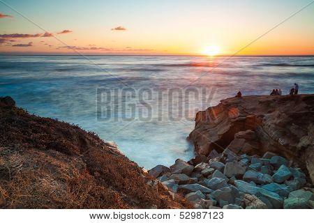 Sunset Cliffs Sunset, San Diego Southern California USA