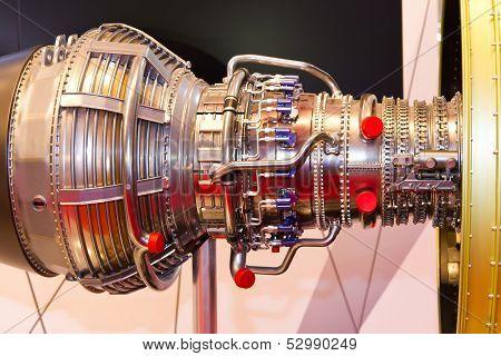 Jet Airplane Engine