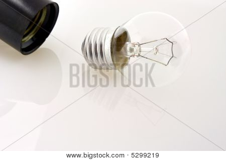 Unscrewed Lamp