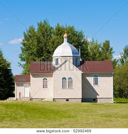 Small Ukrainian Orthodox Christian Church Edifice