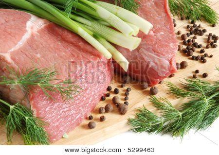 rohe Rindfleisch