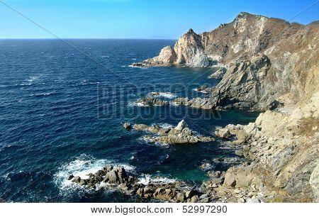 Japan Sea, Primorsky Krai. Russia