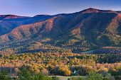 stock photo of cade  - Autumn sunset view of Cade - JPG