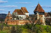 Fortified Church Of Alma Vii, Transylvania Landmark In Romania