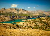 pic of euphrat  - Canyon of Euphrates River - JPG