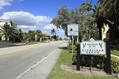 Deerfield Beach Welcome Sign