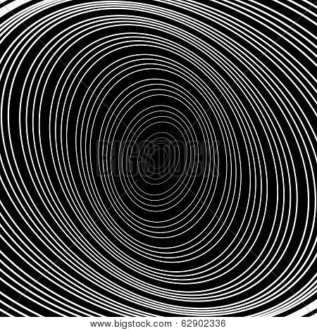 Design Uncolored Whirlpool Circular Movement Background