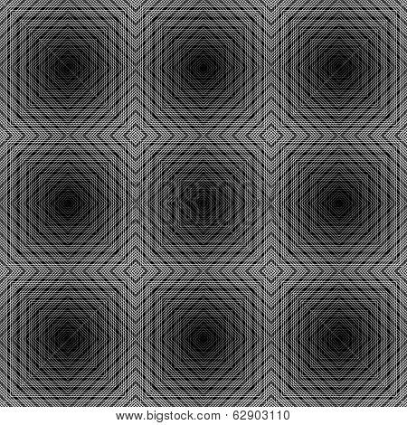 Design Seamless Checked Trellis Pattern