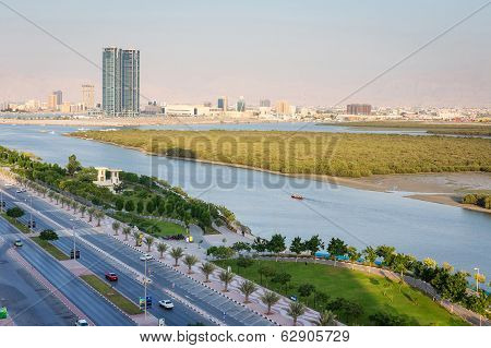 Mangroves In Ras Al Khaimah Uae