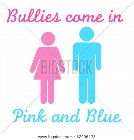 bullies pink and blue