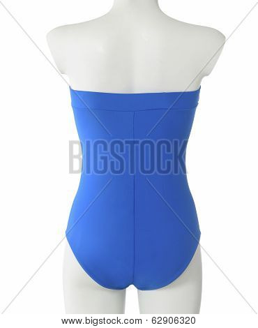 Female Mannequin With Swimwear. Isolated.