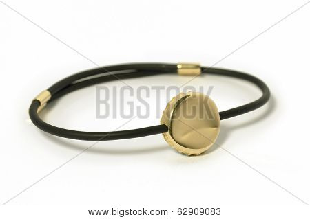 Wristband, Armband Isolated On White.