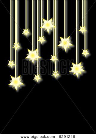 background dark star