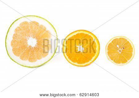 Sweetie, Orange And Lemon