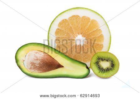 Avocado, Sweetie And Kiwi