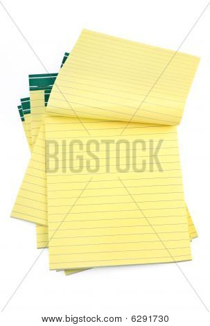 Lined Paper Notebooks