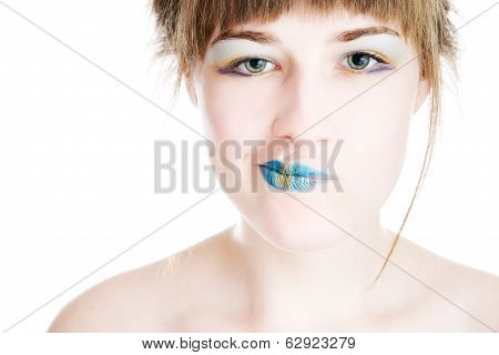 Portret of young girl