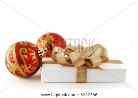 Red Balls And Gift