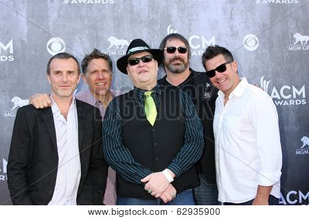 LAS VEGAS - APR 6:  Blues Traveler, John Popper at the 2014 Academy of Country Music Awards - Arrivals at MGM Grand Garden Arena on April 6, 2014 in Las Vegas, NV