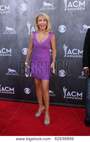 LAS VEGAS - APR 6:  Linda Thompson at the 2014 Academy of Country Music Awards - Arrivals at MGM Grand Garden Arena on April 6, 2014 in Las Vegas, NV