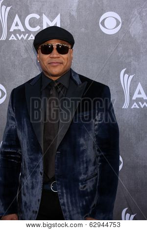 LAS VEGAS - APR 6:  LL Cool J, aka James Smith at the 2014 Academy of Country Music Awards - Arrivals at MGM Grand Garden Arena on April 6, 2014 in Las Vegas, NV