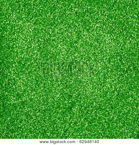 green glitter makeup powder texture