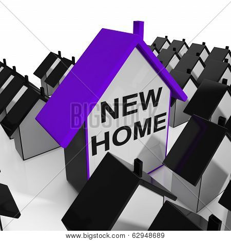 New Home House Means Buying Or Renting Out Property