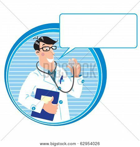 Family Doctor. Design Template