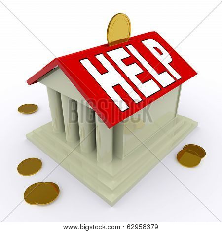 Help On House Or Money Box Means Loan Assistance
