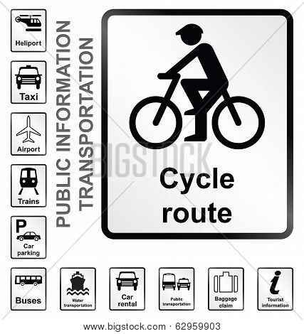 Transport Information Signs