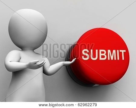 Submit Button Means Enter Application Or Document