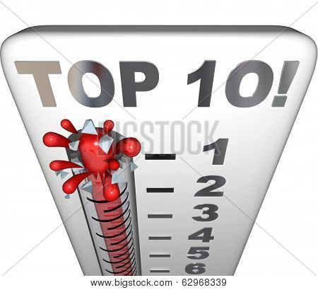 Top 10 Thermometer Measure Ten Best Scores Ratings Results